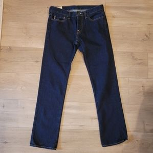 Abercrombie & Fitch 'slim straight' denim jean